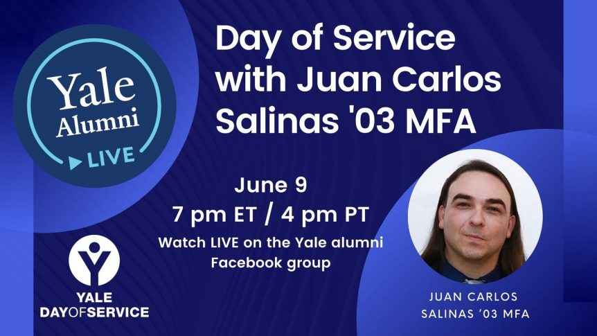 Yale Day of Service with Juan Carlos Salinas
